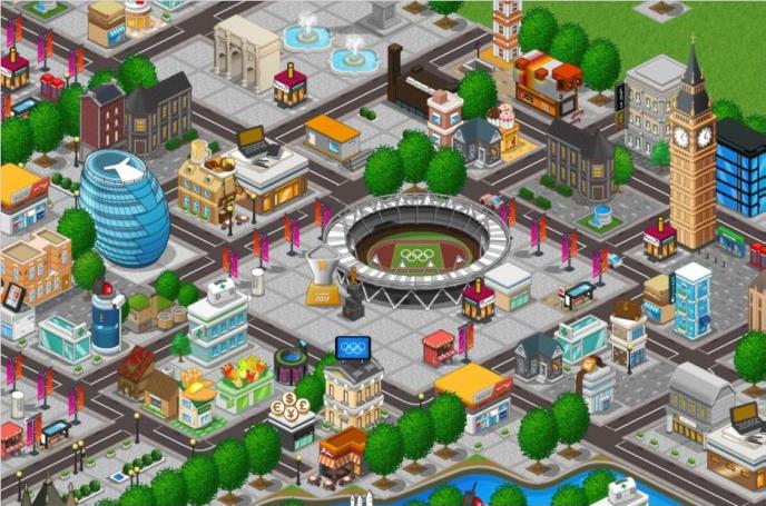 NeoWizとゲームオン、Facebookにてロンドンオリンピック公式ソーシャルゲーム「オリンピックゲームシティ」の提供を開始1