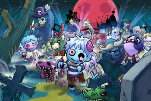 【やってみた】タイトーのかわいすぎるゾンビゲー「Zombie Carnival」1