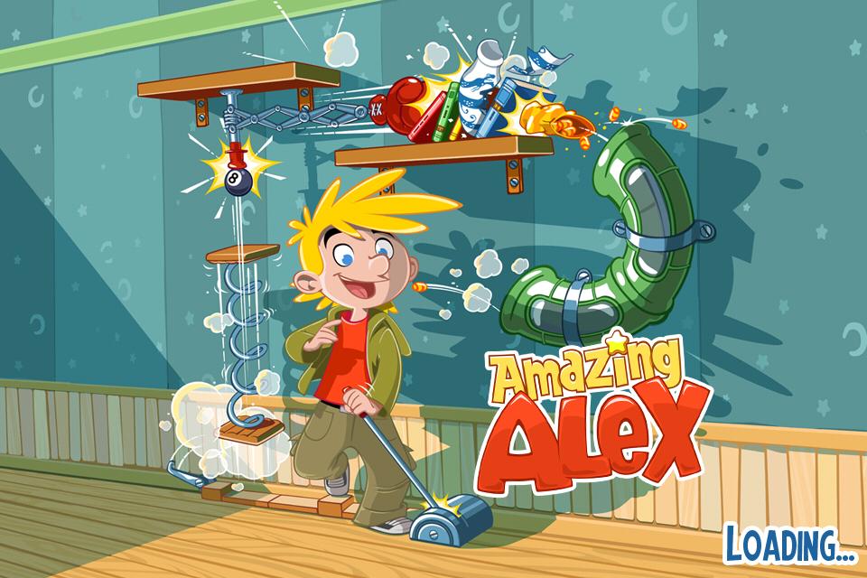 【やってみた】Rovioのピタゴラスイッチ的新作ゲーム「Amazing Alex」1