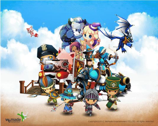 WeMade Online、「東京ゲームショウ2012」に初出展! Facebookページもオープン