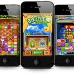 NHN Japan、スマホ向け無料通話・メールアプリ「LINE」と連携したゲーム「LINE Birzzle」をリリース