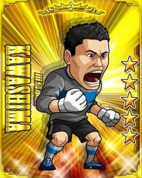 ソーシャルゲーム「サカつく S ワールドスターズ」に川島永嗣選手のカードが登場!