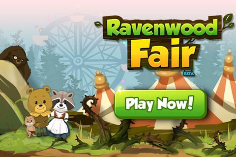 6waves、Facebookで人気のソーシャルゲーム「Ravenwood Fair」のスマホ版をリリース1
