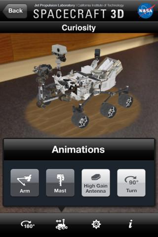NASAのロボット機器をARで見てみよう!---iOSアプリ「Spacecraft 3D」1