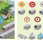 位置ゲー「MyTown」に東京メトロの駅や電車が登場!