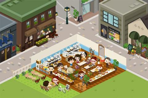 アメーバピグの大型新作ソーシャルゲーム「ピグカフェ」、本日より正式オープン!1