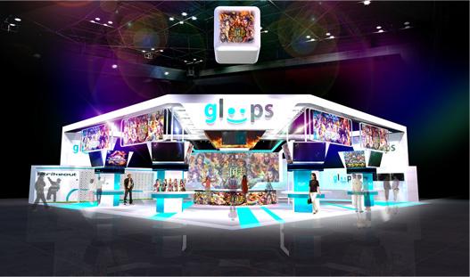 グループス、「東京ゲームショウ2012」に初の大型出展!