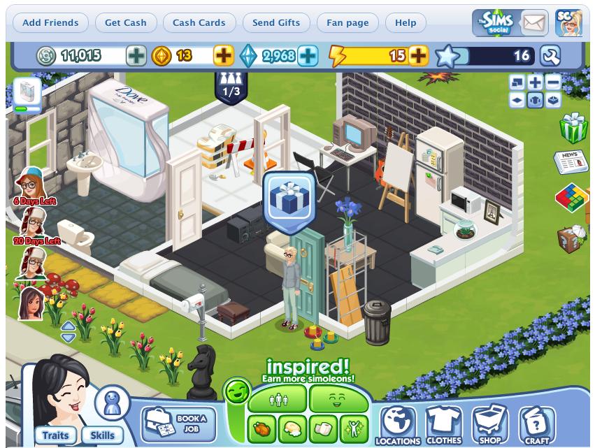 EA、Zyngaを著作権侵害で提訴 ソーシャルゲーム「The Ville」が「The Sims Social」に似過ぎな件で1