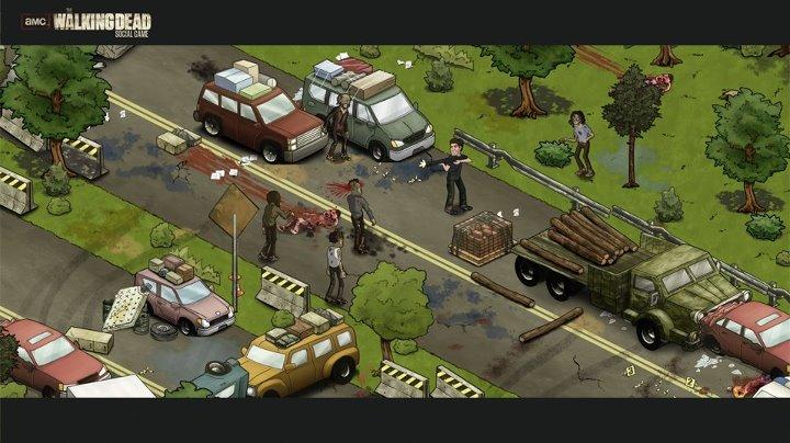 RockYou、Facebookにてゾンビドラマ「ウォーキング・デッド」のソーシャルゲーム「AMC The Walking Dead Social Game」のオープンβテストを開始1