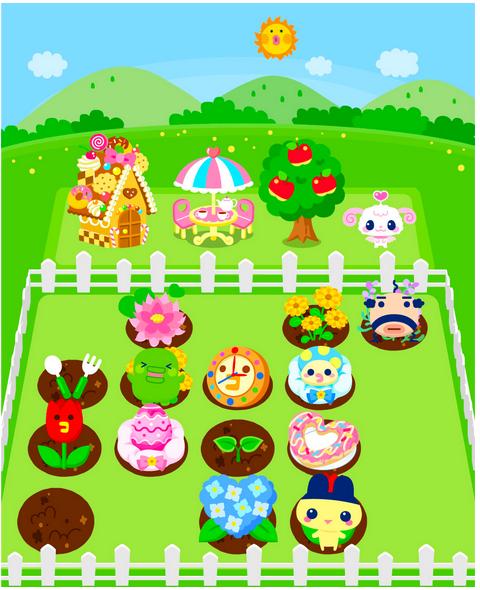 バンダイナムコゲームス、Mobageにてソーシャルゲーム「ホッコリ!たまごっち~な」の提供を開始