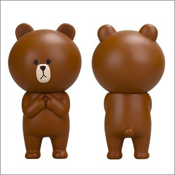 「LINE」キャラのソフビが市販決定! 9月下旬より発売予定1