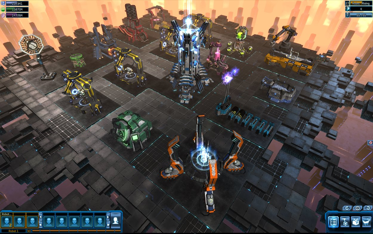 中国Tencent傘下のStomp Games、Facebookにて3Dアクションゲーム「Robot Rising」をリリース1