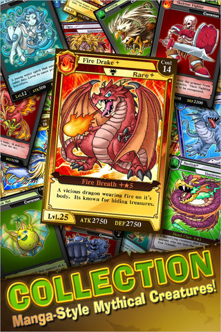KONAMI、カナダのApp Storeにてソーシャルゲーム「ドラゴンコレクション」の英語版を公開1