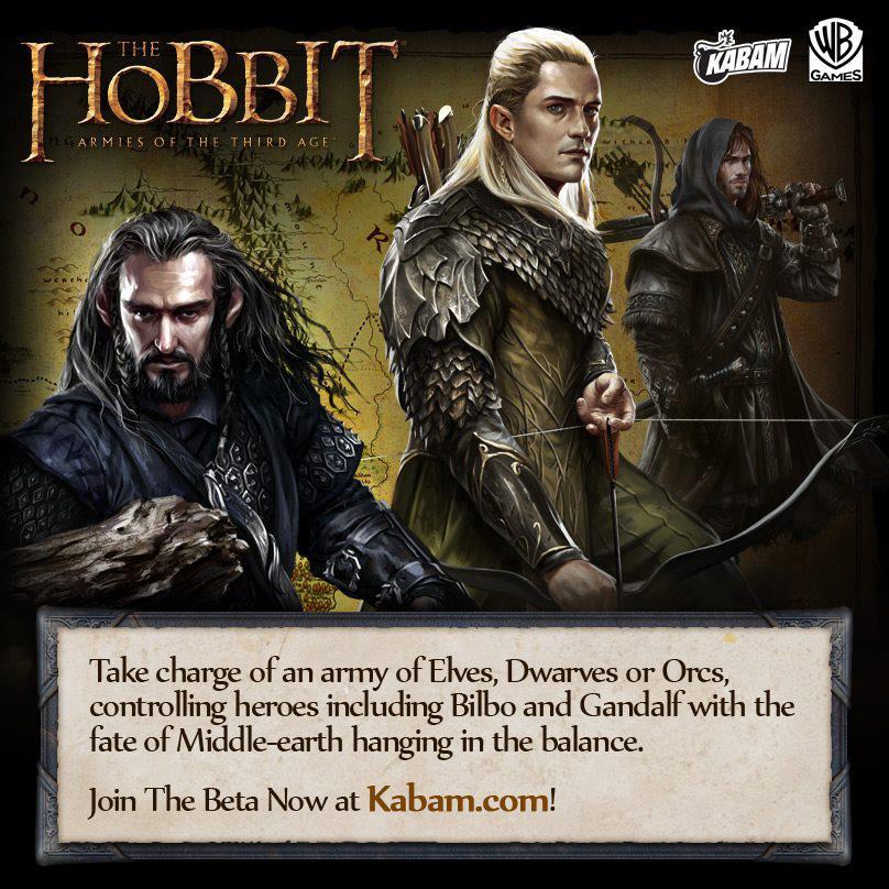 米ソーシャルゲームディベロッパーのKabam、「ロード・オブ・ザ・リング」をソーシャルゲーム化