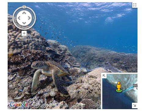 Google Mapsに海中と海底が登場! グレートバリアリーフなど6カ所の海が追加