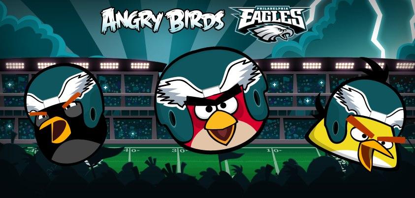 Angry Birds、米アメフトチームのフィラデルフィア・イーグルスとのコラボを開始1