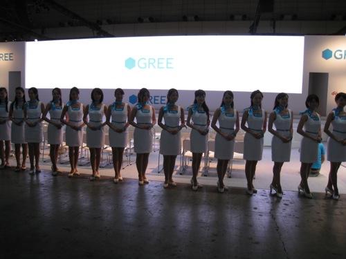 【TGS2012レポート】コスプレ・コンパニオンさんがいっぱい!「GREE COLLECTION 2012」1