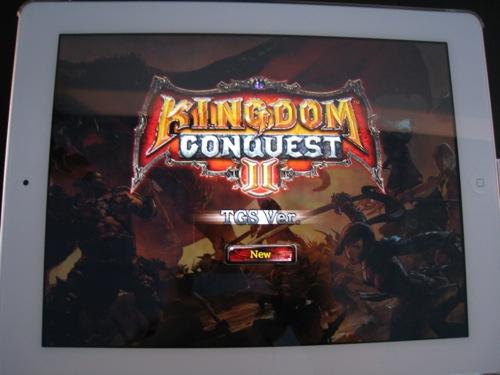 【TGS2012レポート】セガネットワークス、スマホ向け人気アクションRPG「Kingdom Conquest」の続編となる「Kingdom Conquest II」を今冬リリース!1