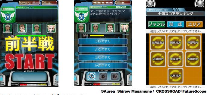 士郎正宗氏がキャラクター原画を担当! フューチャースコープ、Android向けオンラインクイズゲームアプリ 「S.N.C.T. –サンクト–」をリリース1