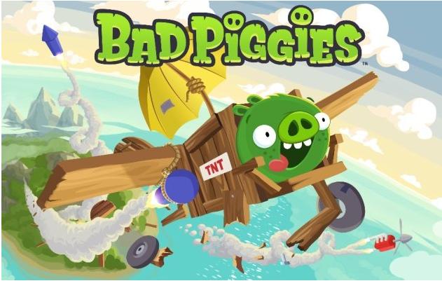 Rovio、9/27にAngry Birdsのスピンオフタイトル「Bad Piggies」をリリース