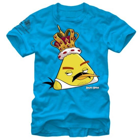Angry Birds×フレディ・マーキュリーの限定コラボTシャツを買ってエイズ撲滅活動を支援しよう!