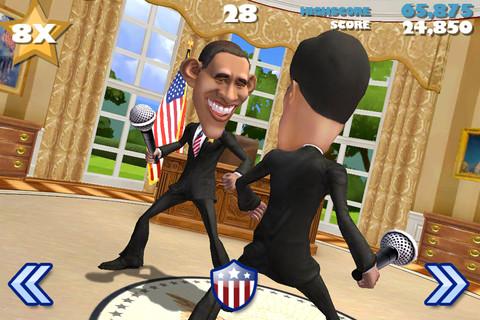 オバマvsロムニーのガチバトル! Epic Games、米大統領選のプロモ用ゲームアプリ「VOTE!!!」をリリース1