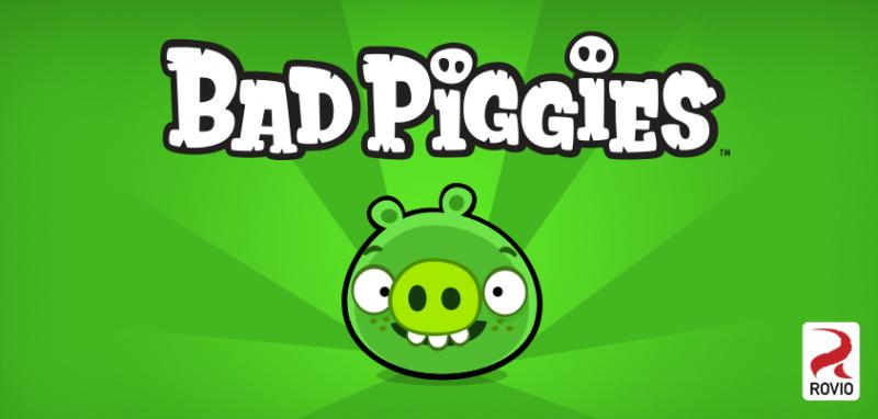 今度は豚が主役! Rovio、9/27にAngry Birdsのスピンオフタイトル「Bad Piggies」をリリース