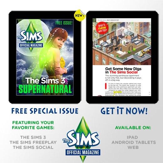 EA、「The Sims」シリーズのWebマガジンを創刊 現在購読者を募集中