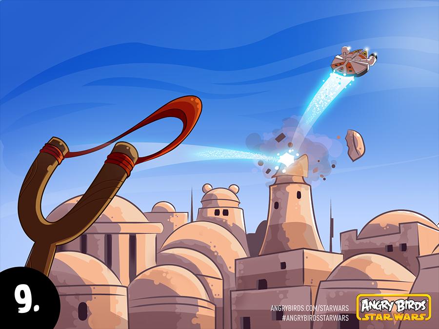 ポイントはライトセーバーの使い方? Rovio、「Angry Birds Star Wars」のプレイ動画を公開!