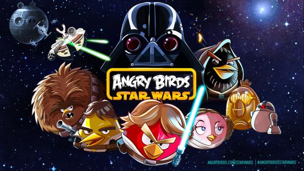 Angry Birdsとスター・ウォーズのコラボタイトル「Angry Birds Star Wars」、11/8にリリース決定!