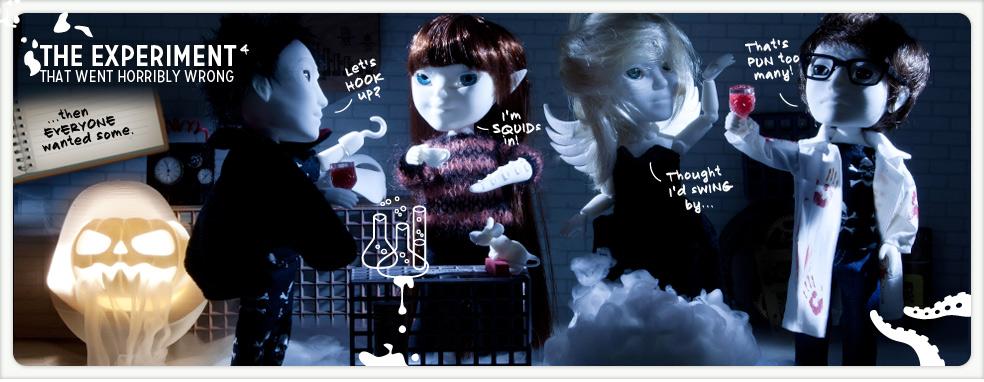 人形もハロウィン仕様に…3Dプリンタ製ドール販売の「Makies」、ハロウィングッズ販売を開始1