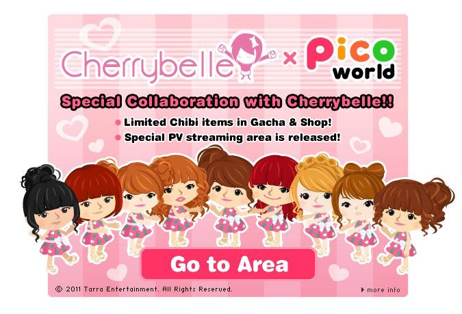 Ameba Pico、インドネシアの女性アイドルグループ「Cherrybelle」とコラボレーション!1
