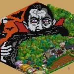 FarmVilleのもう一つの楽しみ方—畑をキャンバスにピクセルアートを描こう!
