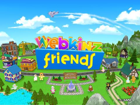 玩具メーカーのGanz、ぬいぐるみ「Webkinz」のiPad向けソーシャルゲームアプリをリリース1