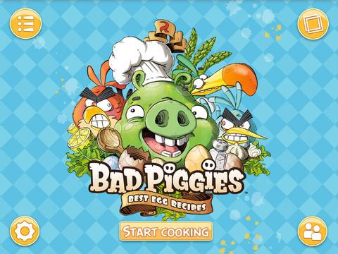 Angry Birdsが電子書籍にも飛来!(豚の本だけど…) Rovio、iPad向け電書アプリ「Bad Piggies Best Egg Recipes」をリリース1