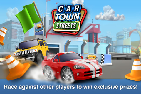 Cie Games、車ソーシャルゲーム「Car Town」のiOSアプリ版「Car Town Streets」をリリース1