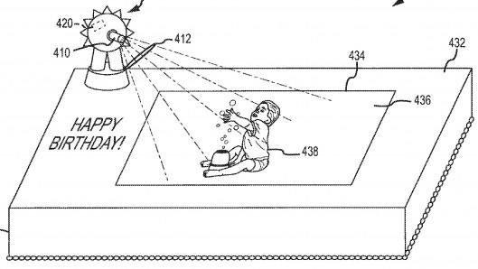 ディズニーがARでお菓子を拡張?ケーキと連動するAR技術の特許を出願中1