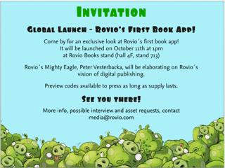Angry Birdsが電子書籍にも参入! Frankfurt Book Fairにて情報を公開