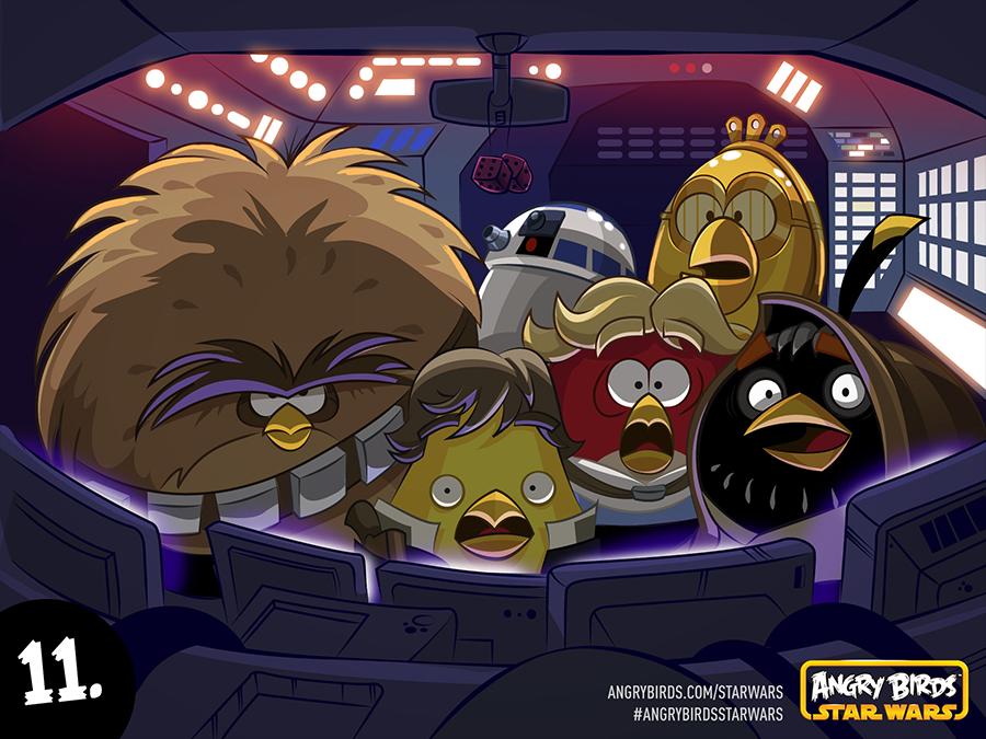 フォースと共にあらんことを---「Angry Birds Star Wars」ではフォースも使える!