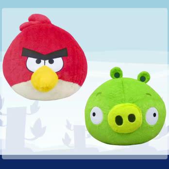日本オリジナルのAngry Birdsグッズが続々登場! フリュー、今月末よりAngry Birdsプライズを展開1