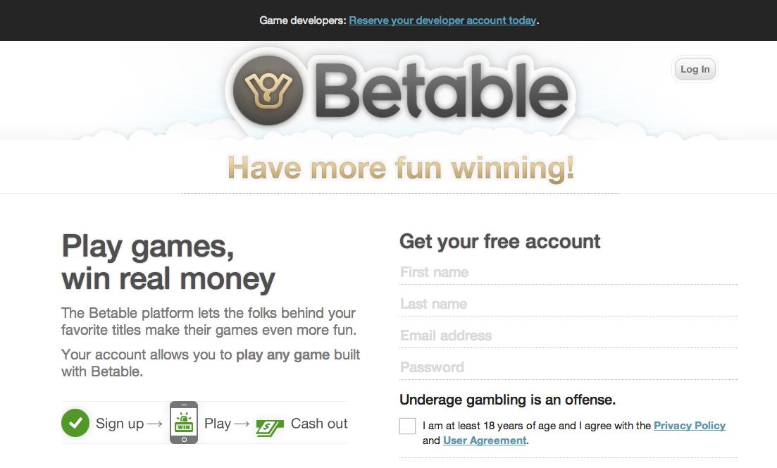 イギリスのオンラインギャンブルプラットフォームのBetable、ソーシャルゲームディベロッパー3社と業務提携