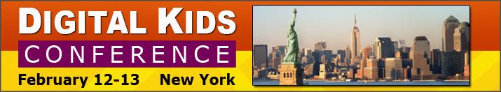 来年2/12~13、NYにて子供向けデジタルコンテンツビジネスのカンファレンスイベント「Digital Kids Conference」開催