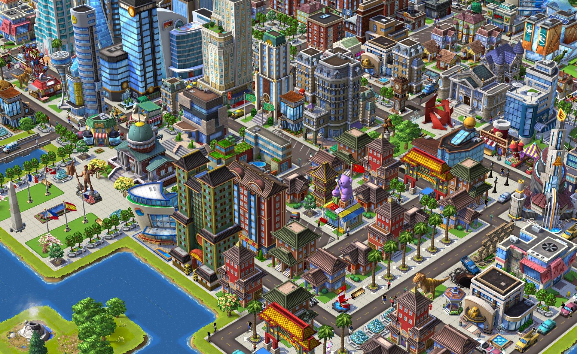 "Zynga、""Ville""シリーズの新作ソーシャルゲーム「CityVille 2」をリリース!1"