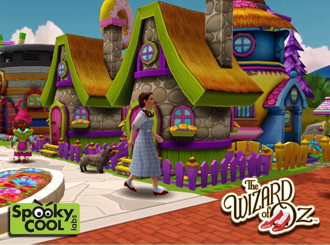 映画「オズの魔法使い」が3Dソーシャルゲーム化! Facebookにて「The Wizard of Oz」を提供中!1