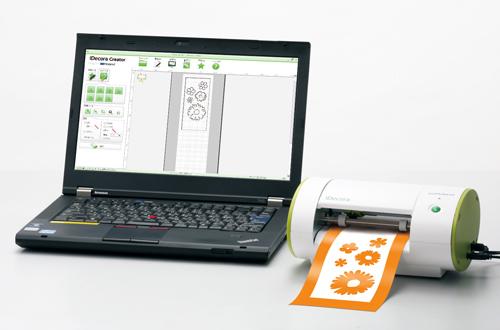 スマホアプリからデータ作成も可能! ローランド、デジタルデコツール「iDecora iD-01」を11/15に発売1