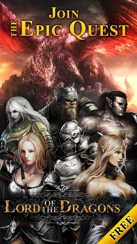 KLab、グローバル市場向けゲームアプリ「Lord of the Dragons」のiPad版をリリース1
