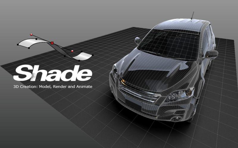 イーフロンティアのMacアプリ版3DCGツール「Shade 3D for Unity」、世界10ヶ国のランキングでトップ10入り