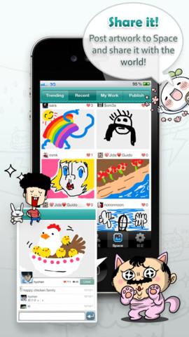 NTT-IP、台湾のスマホ向けお絵描きメッセージングアプリ「CUBiE messenger」に投資1