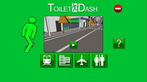 ニジボックスのスマホ向け縦スクロールアクションゲームアプリ「トイレダッシュ」、100万ダウンロード突破!1