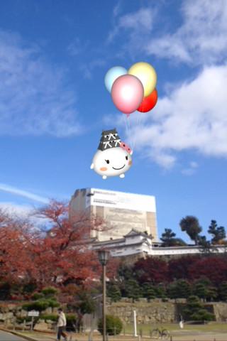 姫路のゆるキャラ「しろまるひめ」と写真を撮ろう! 姫路市、スマホ向けARアプリを使用したプロモーションを開始1